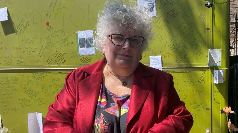 Labour councillor Sue Lukes, pictured, has described Mr Eastlake's death as being a 'devastating loss'