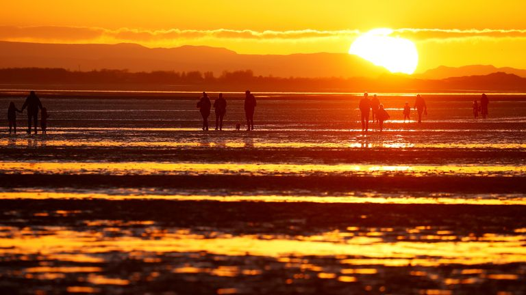 More sunshine is expected after a month which has been dominated by persistent rain