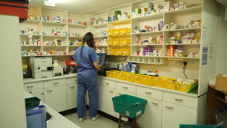 Witley Surgey in Surrey has 11,000 patients