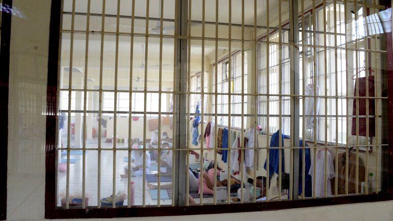 تایلند شاهد افزایش پرونده ها در زندان ها است
