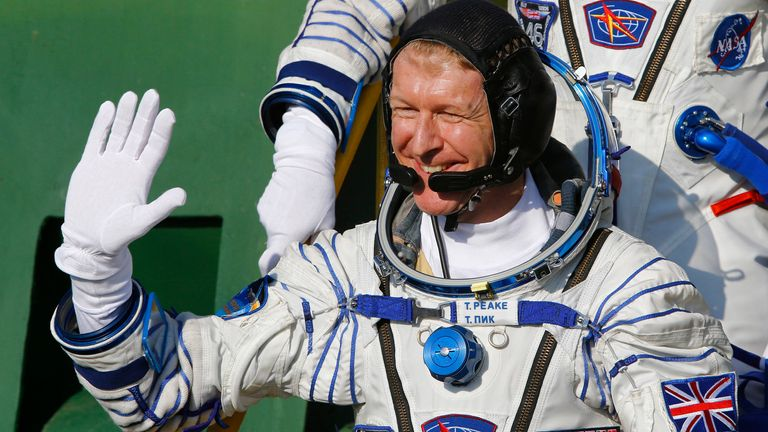 Tim Peake became the first official British astronaut to walk in space in January 2016