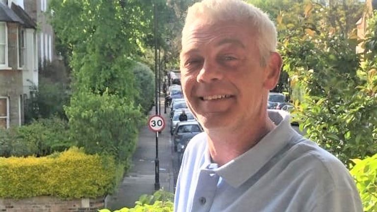 Tony Eastlake who was stabbed to death near his flower stall in Essex Road, Islington, London on Saturday may 29. Pic: Met Police