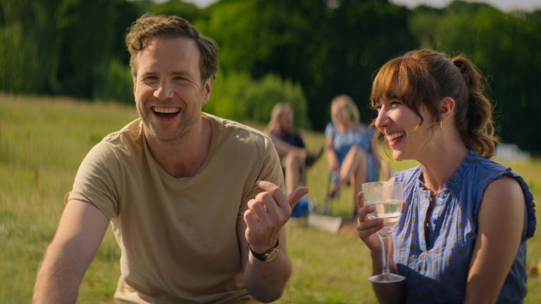 Rafe Spall and Esther Smith in Trying, now streaming on Apple TV+.