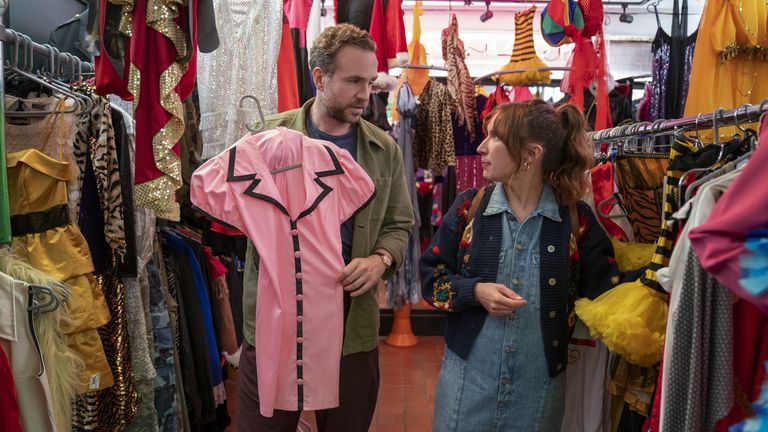 Rafe Spall and Esther Smith in Trying, premiering globally on Apple TV+ on May 21