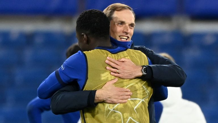 Thomas Tuchel is in the final again after achieving the same feat last season with PSG