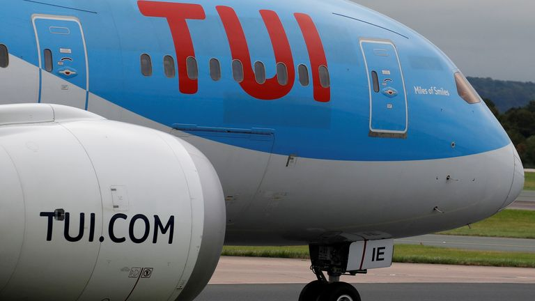 Europe's biggest package holiday company, TUI, has already received a flood of bookings