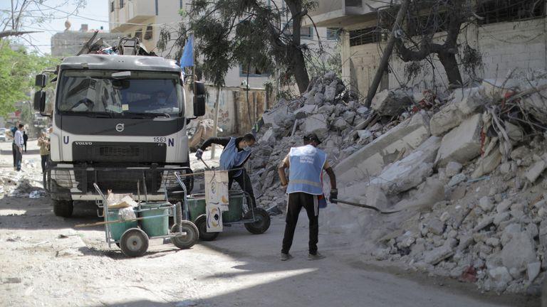 Pic: UNRWA/ Mohamed Hinnawi