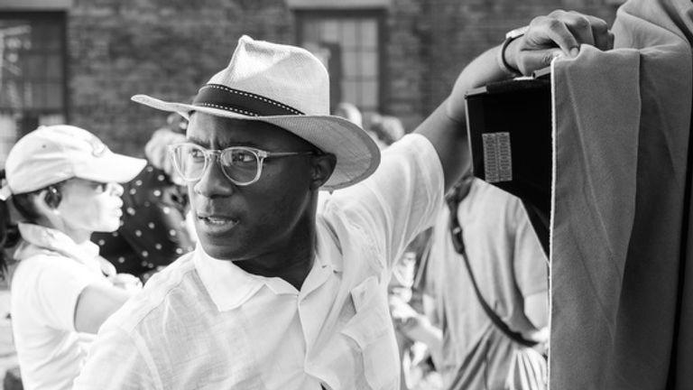 Barry Jenkins on the set of The Underground Railroad. Pic: Amazon Studios