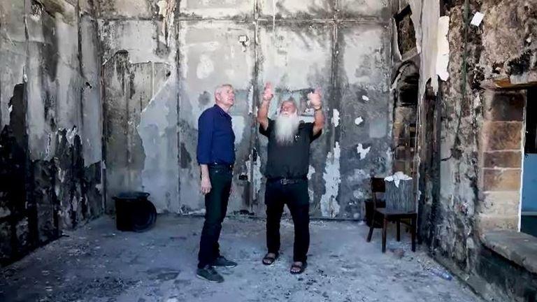 Uri Buri with Sky's Mark Austin