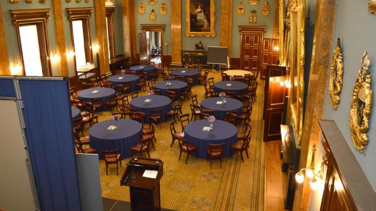 The Learning Together event was held at Fishmongers' Hall in London. Pic: Met Police