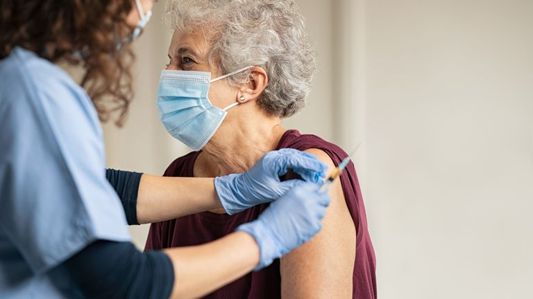 Booster jabs would work like the annual flu jab, which helps protect vulnerable people from getting the virus during the winter months