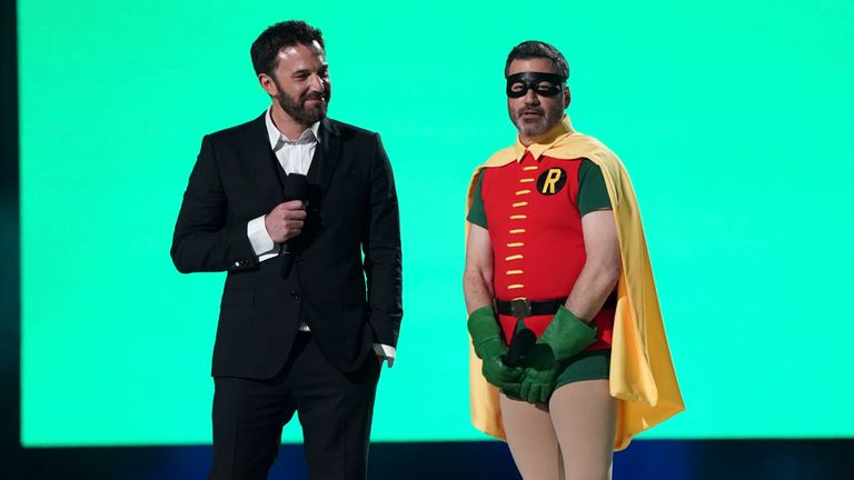 Ben Affleck and Jimmy Kimmel