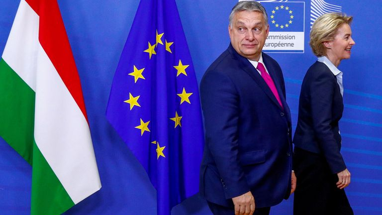 Orban regularly clashes with other EU leaders