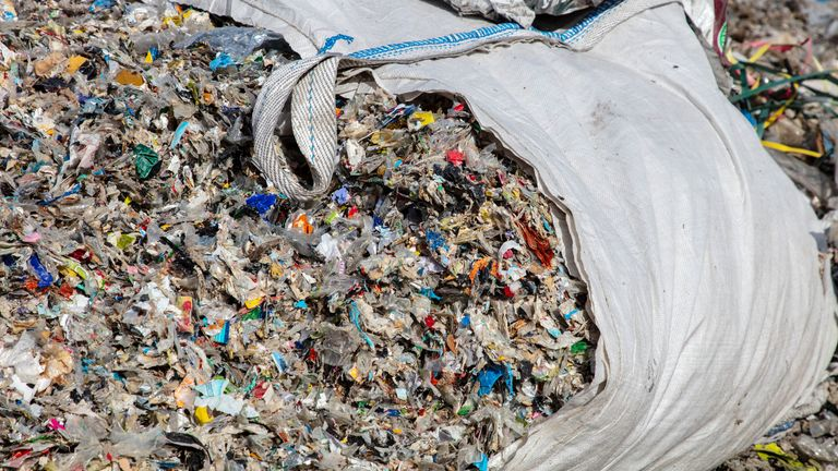 Greenpeace says more than half of the UK's plastic waste goes to Turkey and Malaysia