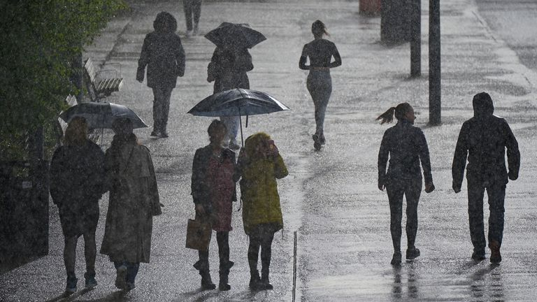 More rain and heavy winds are forecast