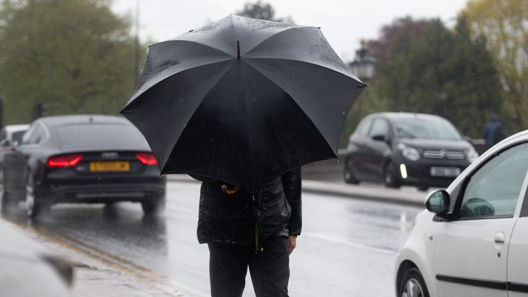 The wet and windy conditions will sweep eastwards, forecasters say