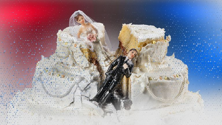 Police have revealed details of dozens of crimes at weddings in the last three years