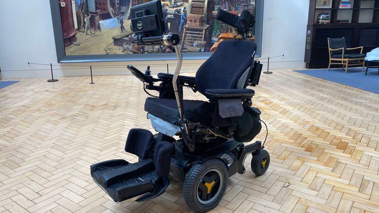 Światowy wózek inwalidzki.  Zdjęcie: Science Media Group