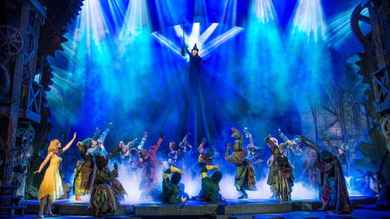 Wicked flies back on to stage in September. Pic: Matt Crockett