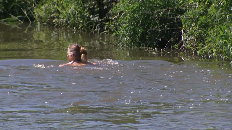 Wild swimming has surged in popularity during the pandemic