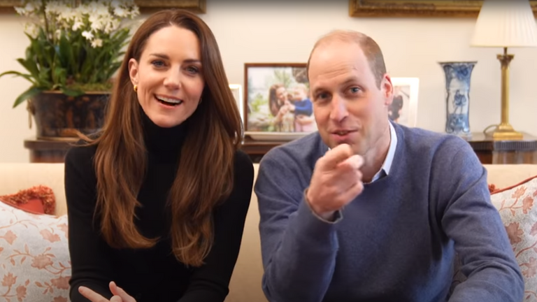 "'These guys are filming everything,"" William warns Kate. Pic: @KensingtonRoyal"
