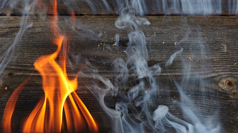 Burning wet wood is said to be responsible for polluting the air with PM2.5, a harmful particulate matter
