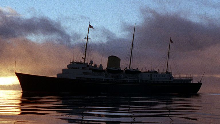 Her Majesty's Yacht Britannia was decommissioned in 1997