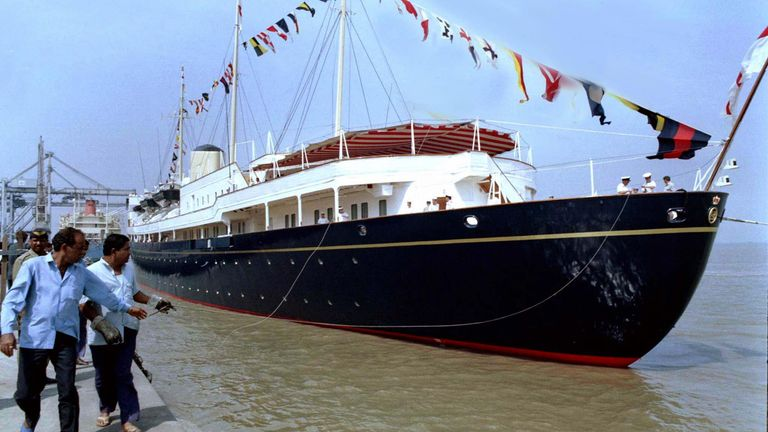 New royal yacht named after Prince Philip to be 'commissioned within  weeks', costing as much as £200m | UK News | Sky News