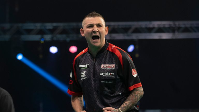 Nathan Aspinall's brilliant 161 finish proved the catalyst for his comeback against Peter Wright