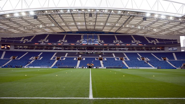 Estadio do Dragao will host the 2021 Champions League final (TBC)
