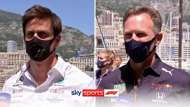 Red Bull's Christian Horner and Mercedes' Toto Wolff give their respective reactions to the change in rear-wing flexibility tests from the French GP.