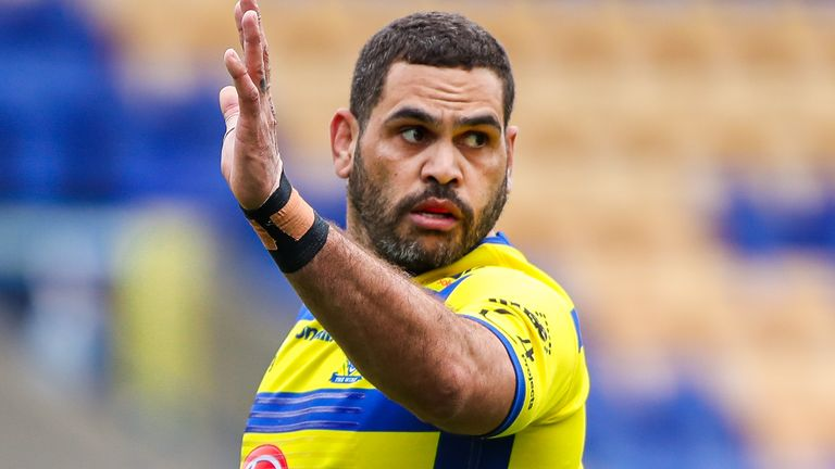 Greg Inglis marked his first game for two years with a try as he helped Warrington to a 50-26 win over Hull KR.