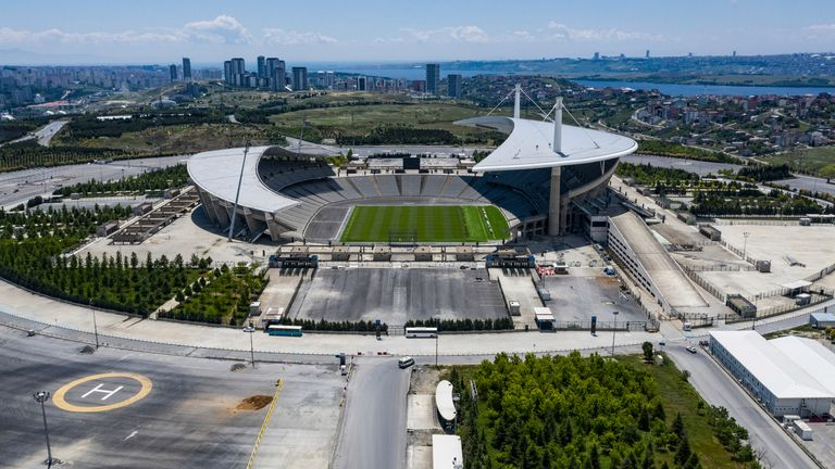 The Ataturk Stadium in Istanbul will host this year's Champions League final on May 29