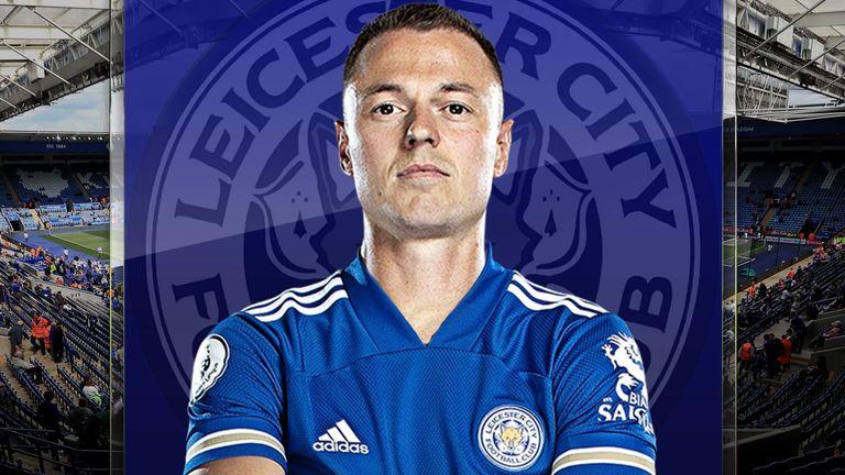 Jonny Evans of Leicester City