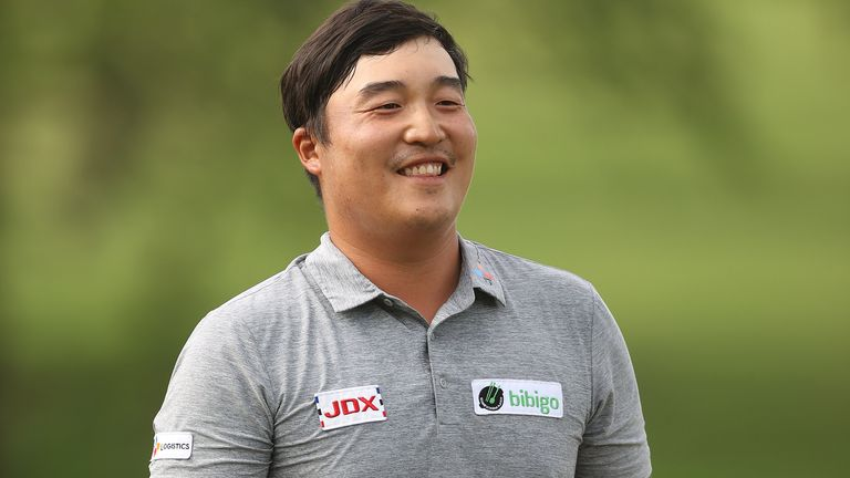 KH Lee said a change in putter had a lot to do with him winning the Byron Nelson