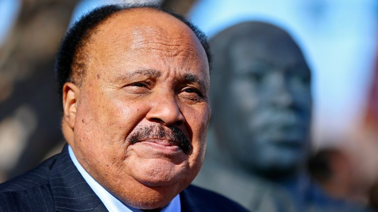 Martin Luther King III, the eldest son of Dr Martin Luther King Jr, tells Sky Sports' Mike Wedderburn it is time for sports stars to consider boycotts to tackle racial and social injustice