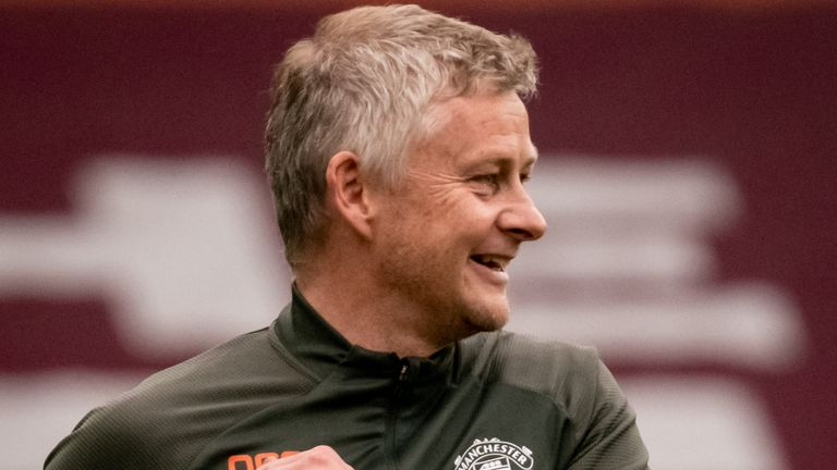 Ole Gunnar Solskjaer was delighted to deny Man City the title on Sunday with a win at Villa