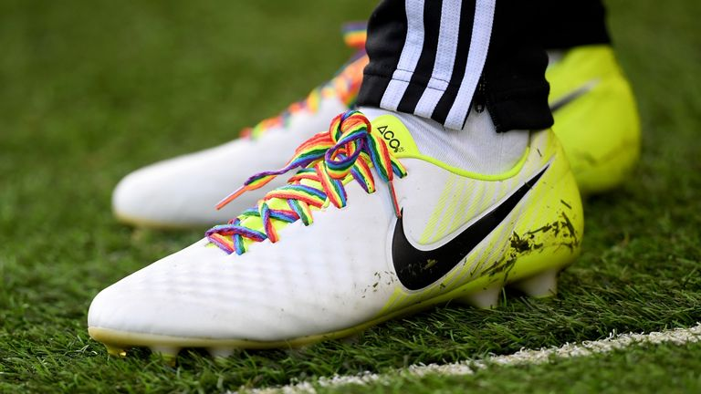 The Super League is keen to demonstrate its commitment to the Rainbow Laces campaign