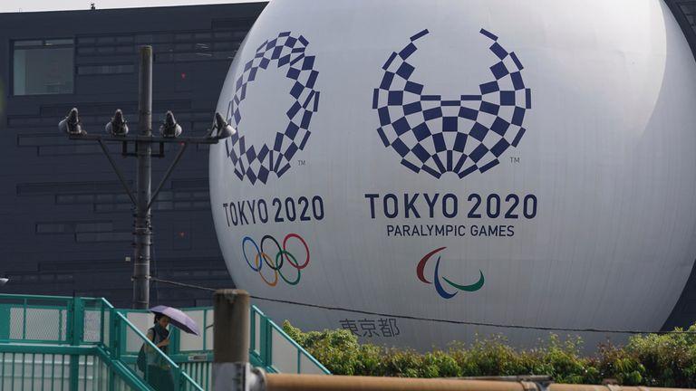 Ap - Tokyo Olympics and Paralympics Emblems ( The Yomiuri Shimbun via AP Images )