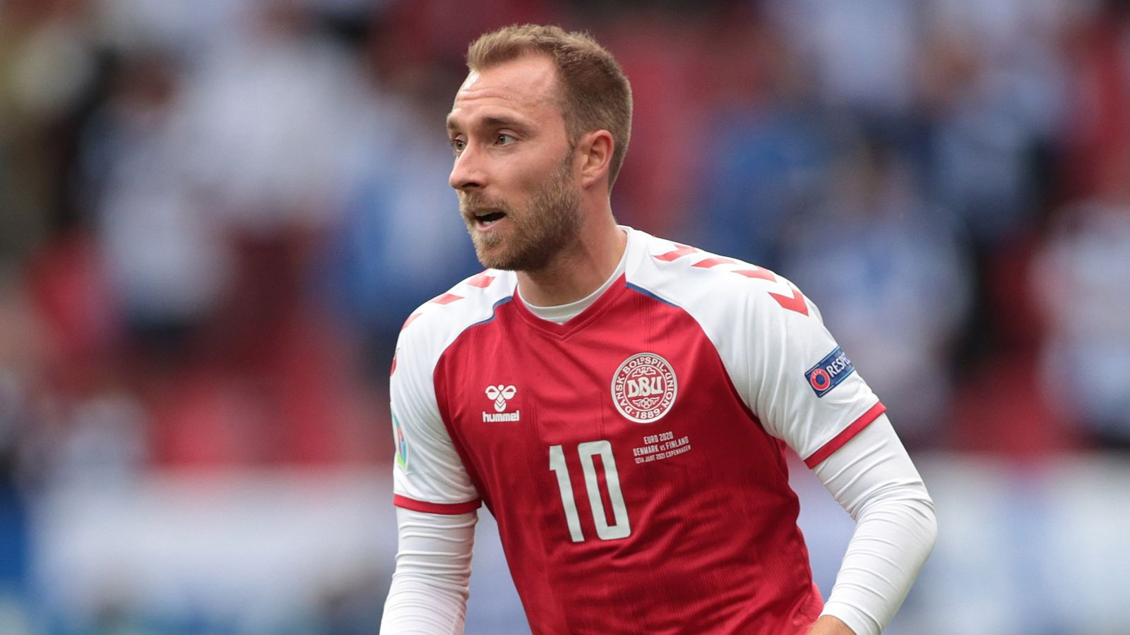 Euro 2020: Christian Eriksen smiling and laughing in hospital, Denmark players reveal   World News   Sky News