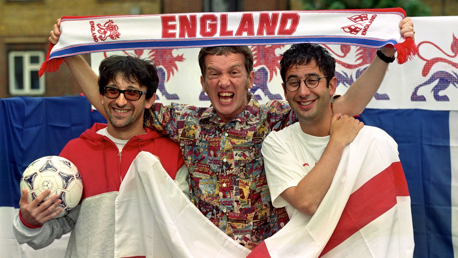 Football's Coming Home: Writer of iconic Three Lions football tune reflects on song being embraced by young fans 25 years on