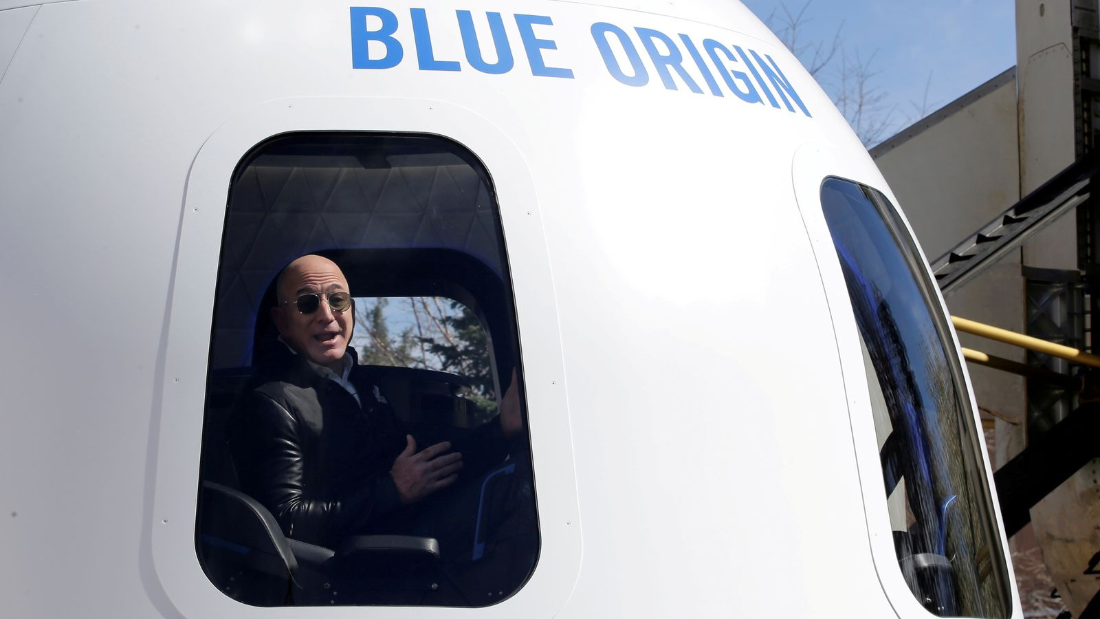 Jeff Bezos: Amazon founder 'excited not nervous' about flight to edge of space