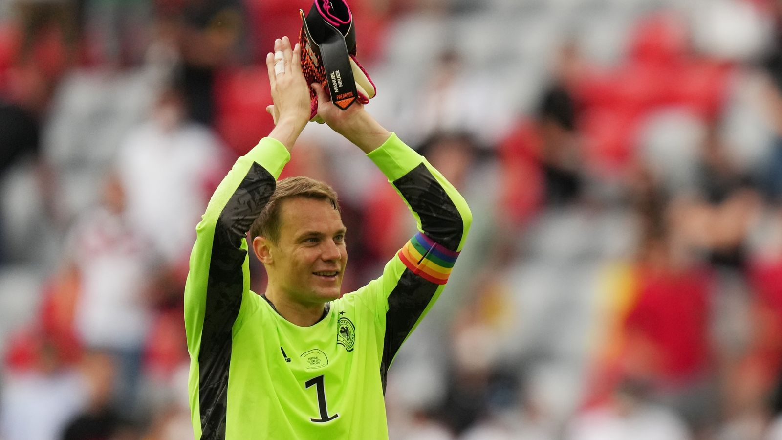 Manuel Neuer: Footballer who wore rainbow armband during Euro 2020 games won't face disciplinary action