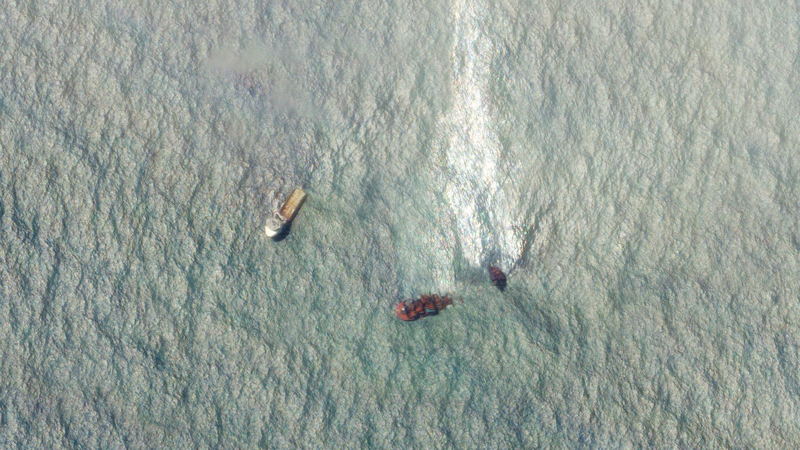 Sri Lanka cargo ship disaster: Large oil spill visible in satellite images