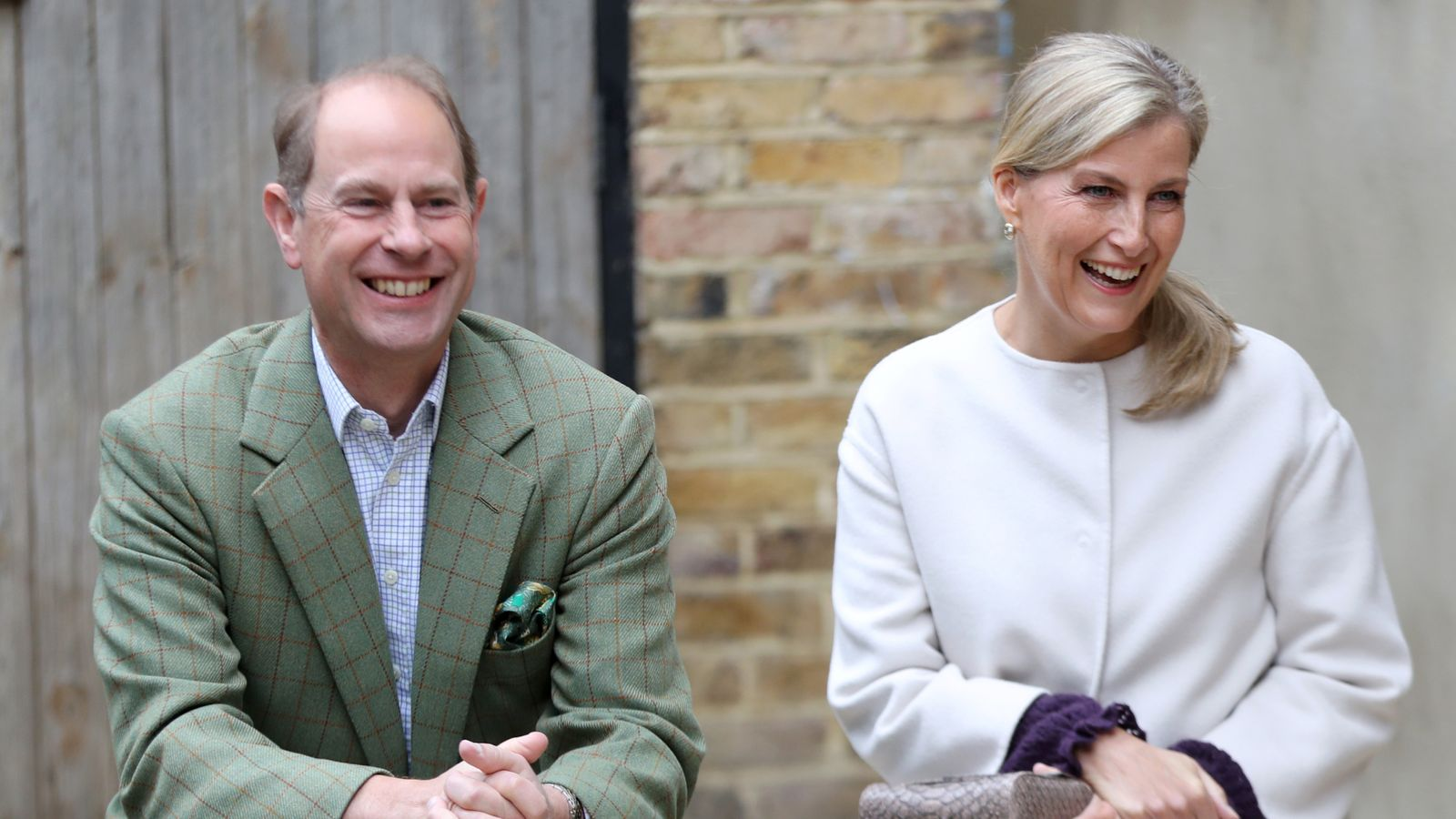 Harry and Meghan: 'Oprah who?' - Prince Edward and Sophie, Countess of Wessex, joke about bombshell interview