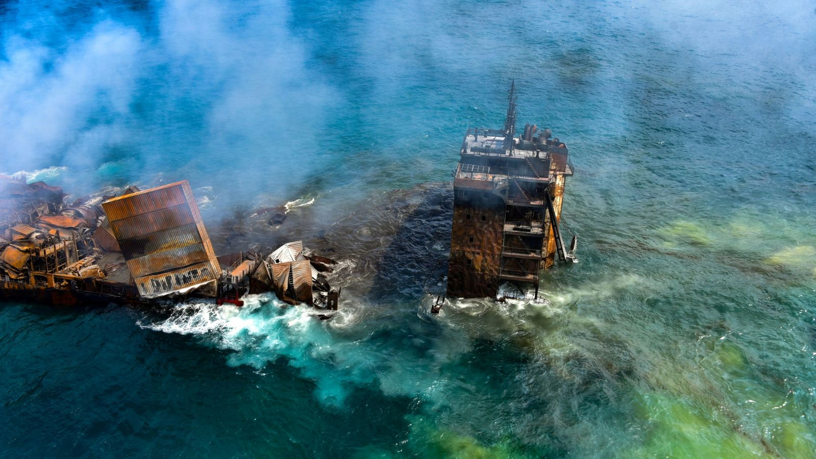 Sri Lanka cargo ship disaster: Salvage experts monitoring sinking chemical-laden cargo vessel for pollution