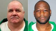 Sigmon (L) killed two people with a baseball bat, and Owens murdered a store worker. Pics: AP