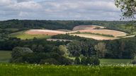 A general view of the Chilterns in High Wycombe.