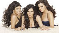 Kourtney Kardashian, Kim Kardashian, Khloe Kardashian pictured in 2007. Pic: E!/Kobal/Shutterstock  2007