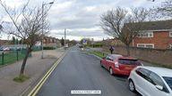 Stoneygate road in Luton
